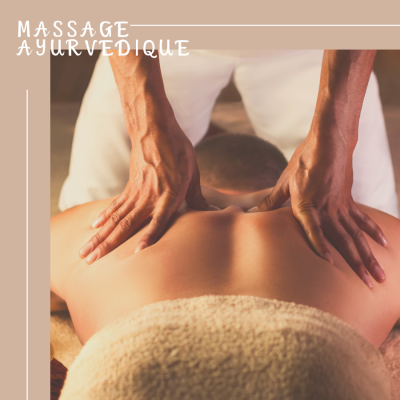 Soins : massage ayurvédique